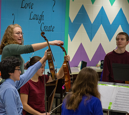 Fox Valley Symphony Orchestra, Harmony Program, The League's American Orchestras' Futures Fund