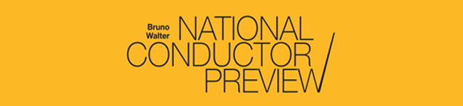 Bruno Walter National Conductor Preview, logo