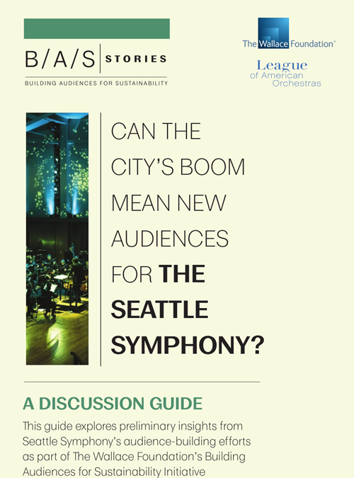 Discussion Guide: Can the City's Boom Mean New Audiences for The Seattle Symphony?