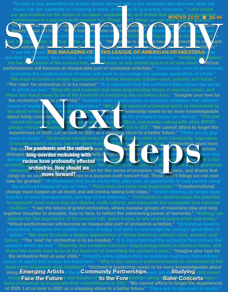 Symphony Winter 2021, Next Steps