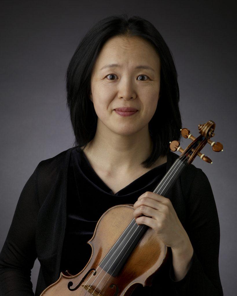 Miho Hashizume, Violin, The Cleveland Orchestra Headshot